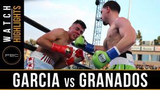 Garcia vs Granados - Watch Fight Highlights | April 20, 2019
