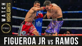 Figueroa Jr. vs Ramos - Watch Fight Highlights | May 1, 2021