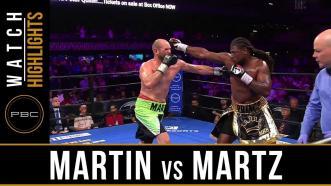 Martin vs Martz - Watch Fight Highlights | July 13, 2019