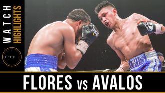 Flores vs Avalos Highlights: July 18, 2017