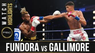 Fundora vs Gallimore - Watch Fight Highlights | August 22, 2020
