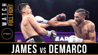 James vs DeMarco - Watch Full Fight | July 13, 2019