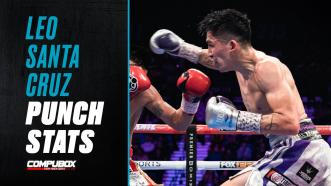 """Leo Santa Cruz Defines the Term """"Punches in Bunches"""""""