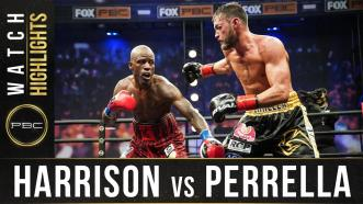 Harrison vs Perrella - Watch Fight Highlights | April 17, 2021