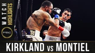 Kirkland vs Montiel - Watch Fight Highlights | December 26, 2020