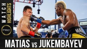 Matias vs Jukembayev - Watch Fight Highlights | May 29, 2021