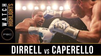 Dirrell vs Caparello highlights: April 29, 2016