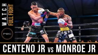 Centeno Jr vs Monroe Jr - Full Fight | June 1, 2019