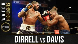 Dirrell vs Davis - Watch Fight Highlights | February 27, 2021