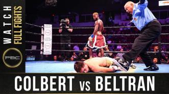 Colbert vs Beltran - Watch Full Fight | September 21, 2019