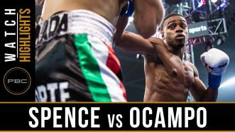 Spence vs Ocampo - Watch Video Highlights  June 16, 2018