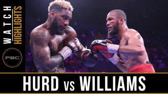 Hurd vs Williams - Watch Fight Highlights | May 11, 2019