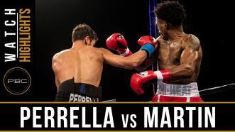 Perrella vs Martin Highlights: December 8, 2017