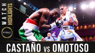 Castano vs Omotoso - Watch Fight Highlights | November 2, 2019
