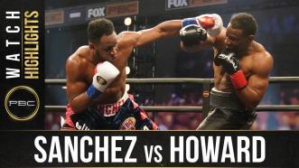 Sanchez vs Howard - Watch Fight Highlights | November 7, 2020