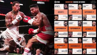 Showtime Boxing Returns with a Stellar Lineup for the Remainder of 2020