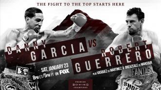 Garcia vs Guerrero preview: January 23, 2016