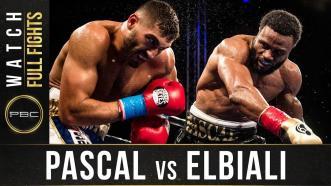 Elbiali vs Pascal Full Fight: December 8, 2017 - PBC on FS1