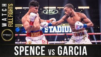 Spence vs Garcia - Fight Week Preview
