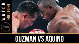 Guzman vs Aquino full fight: October 10 2015