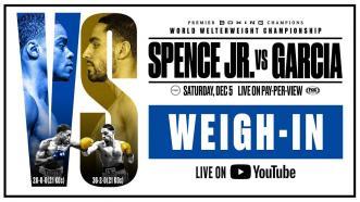 Spence vs Garcia Weigh In