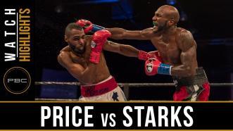 Price vs Starks highlights: September 3, 2016
