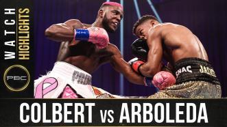 Colbert vs Arboleda - Watch Fight Highlights | December 12, 2020