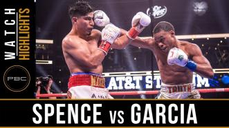 Spence vs Garcia - Watch Fight Highlights | March 16, 2019