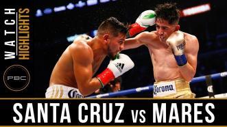 Santa Cruz vs Mares 2 - Watch Video Highlights | June 9, 2018