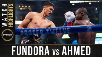 Fundora vs Ahmed - Watch Fight Highlights | December 5, 2019