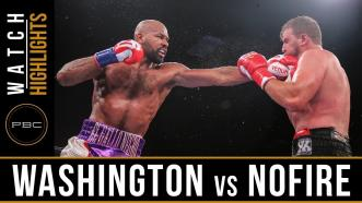 Washington vs Nofire - Watch Video Highlights | June 10, 2018