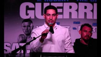 Danny Garcia on his January 23, 2016 fight against Robert Guerrero