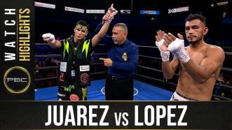 Juarez vs Lopez HIGHLIGHTS: September 19, 2021 | PBC on FS1