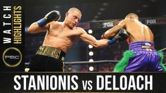 Stanionis vs DeLoach - Watch  Fight Highlights | November 4, 2020