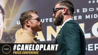 Canelo Alvarez vs Caleb Plant Kick-off Press Conference | Full Replay