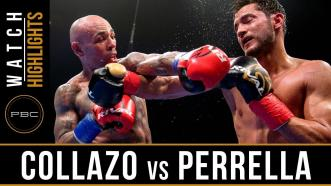 Collazo vs Perrella - Watch Video Highlights | August 4, 2018