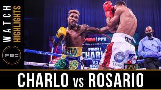 Charlo vs Rosario - Watch Fight Highlights   September 26, 2020