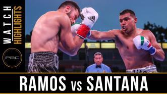 Ramos vs Santana - Watch Video Highlights | March 9, 2019