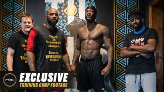 An EXCLUSIVE Glimpse Into the Training Camp of Deontay Wilder