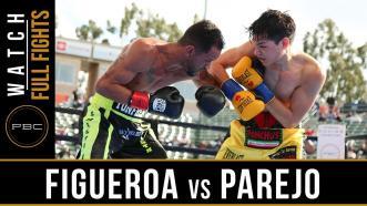 Figueroa vs Chacon - Watch Full Fight | August 24, 2019