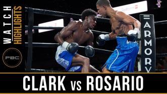 Clark vs Rosario - Watch Video Highlights | August 24, 2018