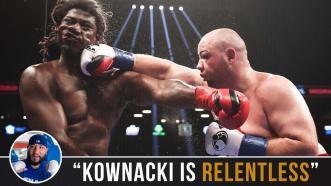 Chris Arreola breaks down Adam Kownacki's Fight Style