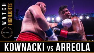 Kownacki vs Arreola - Fight Highlights   August 3, 2019