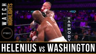 Helenius vs Washington - Watch Fight Highlights | July 13, 2019