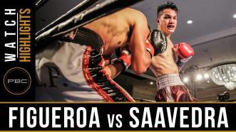 Figueroa vs Saavedra HIGHLIGHTS: May 2, 2017