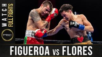 Figueroa vs Flores - Watch Full Fight | January 13, 2019
