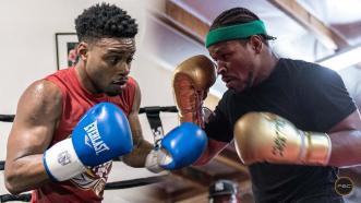Errol Spence Jr. and Shawn Porter recall their first time sparring