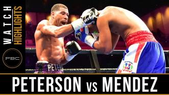 Peterson vs Mendez - Watch Fight Highlights | March 24, 2019