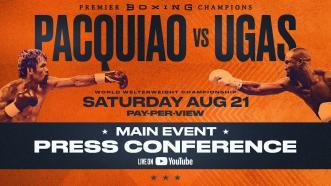 Pacquiao vs Ugas - Main Event Press Conference