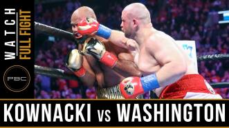Kownacki vs Washington - Watch Full Fights - January 26, 2019